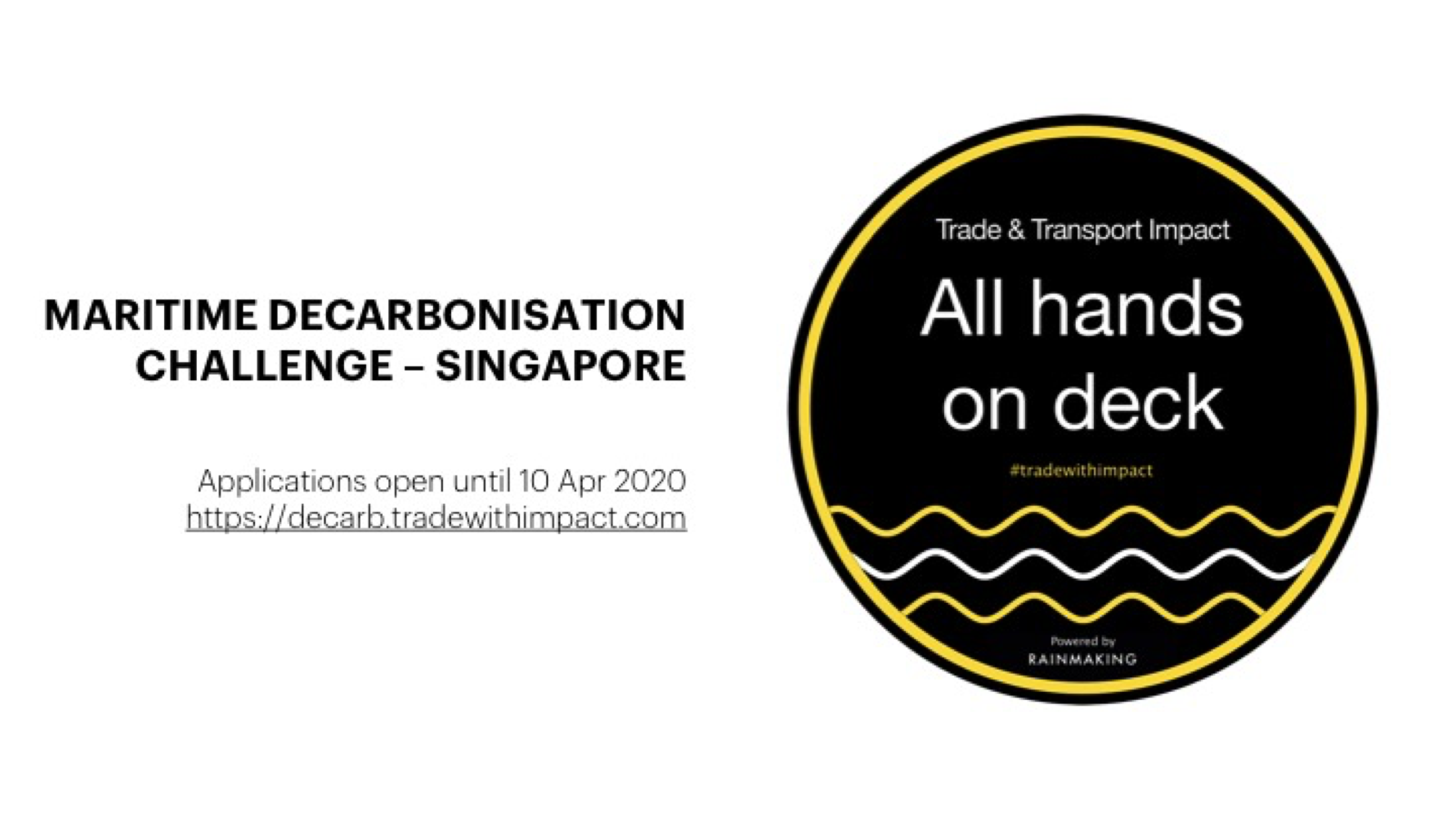 Decarbonizing Shipping Challenge