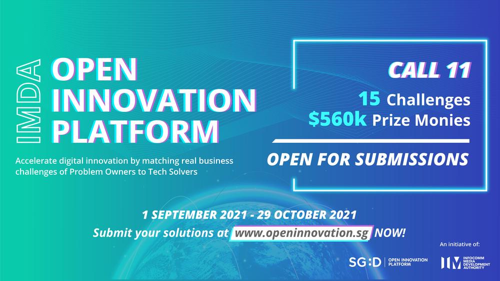 Open Innovation Platform Call 11