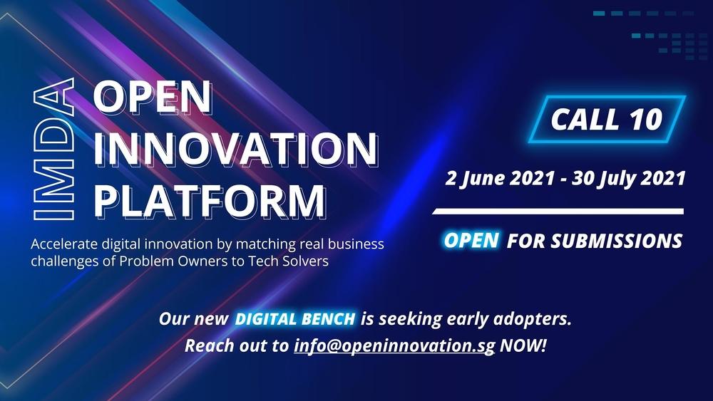Open Innovation Platform Call 10